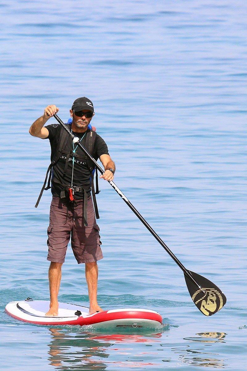 Manu arrives at Work