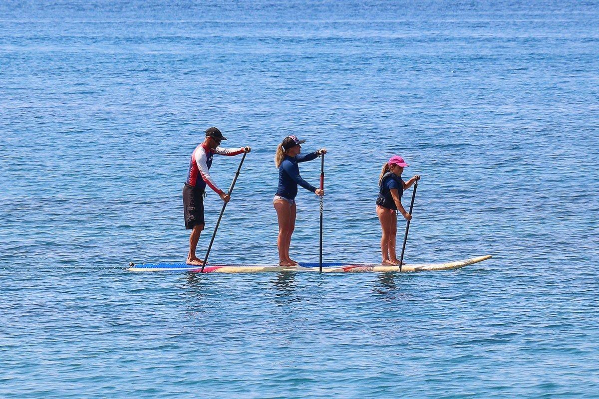 Double surf, triple SUP!