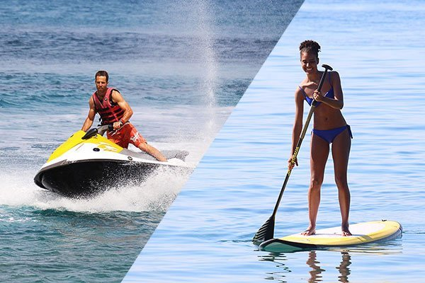Surfers Paradise Ixia Rhodes Stand Up Paddle and Jet-bike Rental