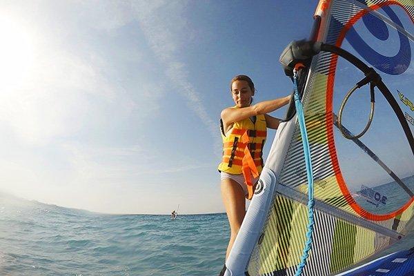 Surfers Paradise Ixia Rhodes Windsurf Courses