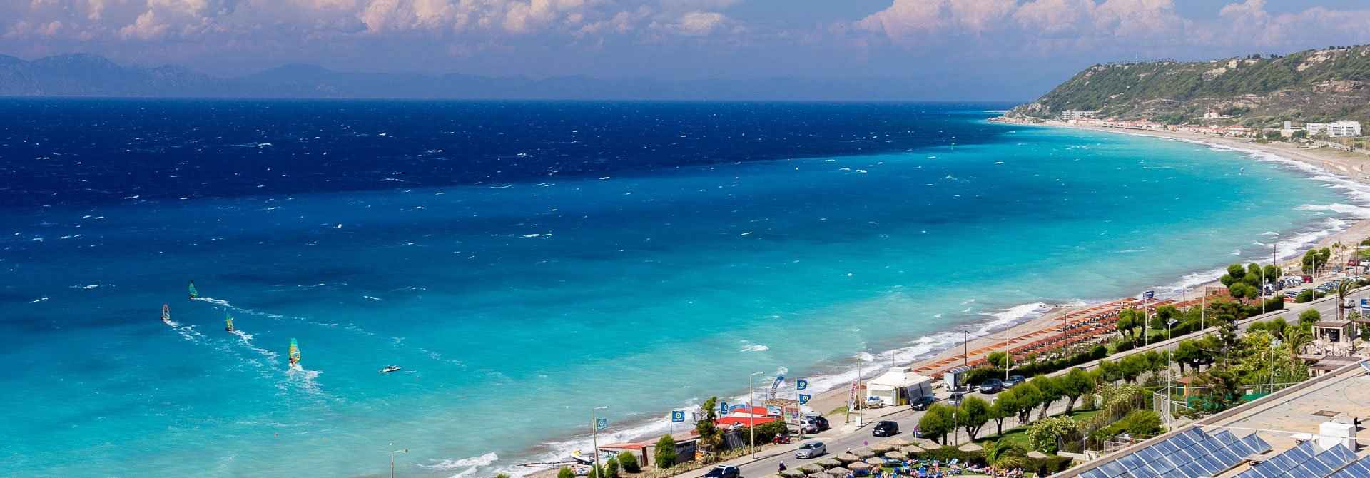 aerial view of Surfers-Paradise Ixia Rhodes