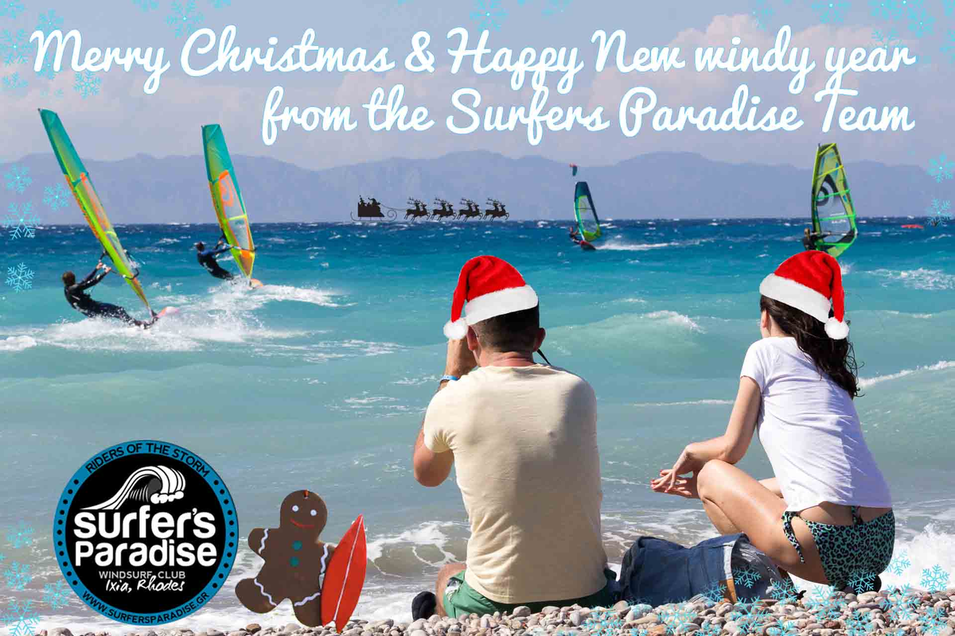 Merry Christmas and Happy New Year from us at Surfers Paradise