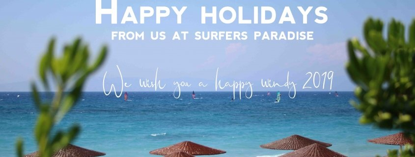 Surfers Paradise Christmas card 2018-2019