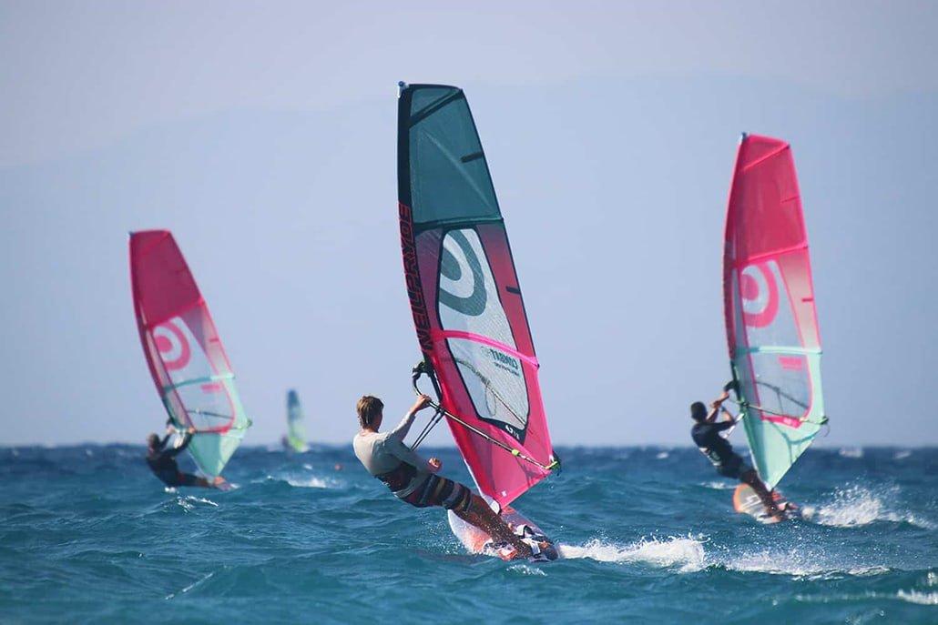 Windsurfing Holidays - Rhodes - Greece   Surfers Paradise