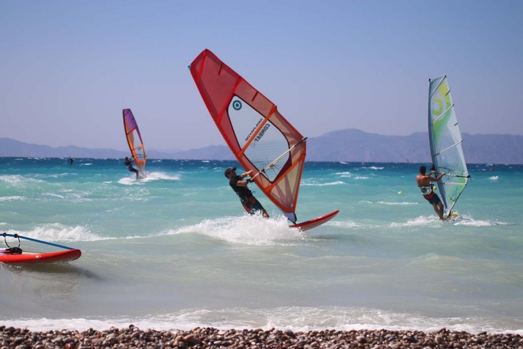 Surfers Paradise - Windsurf - Center - Ixia - Rhodes - Greece
