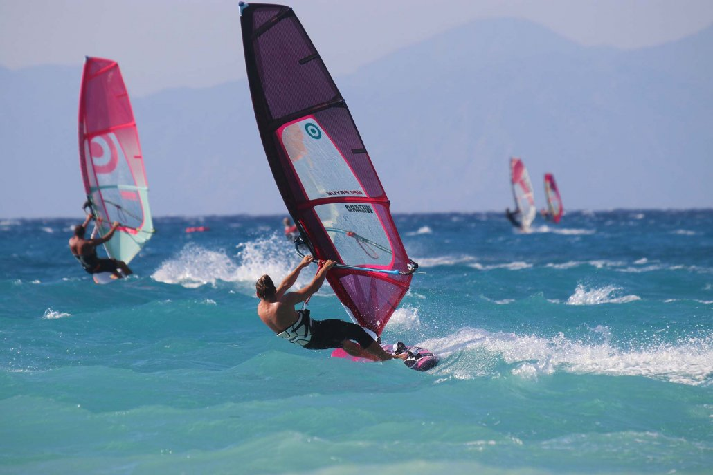 Surfers Paradise - Windsurfing - Holidays - Ixia - Rhodes - Greece