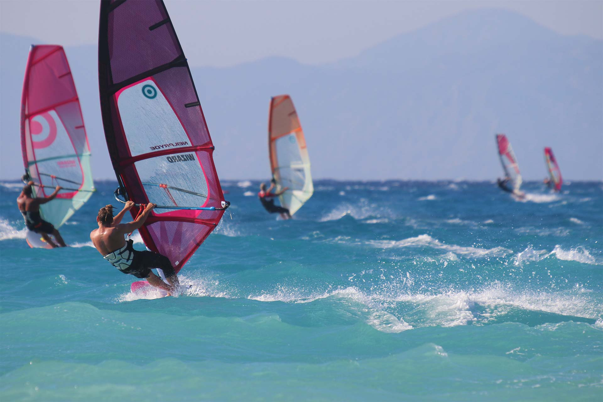 Surfers Paradise - Windsurfing -Center - Ixia - Rhodes - Greece