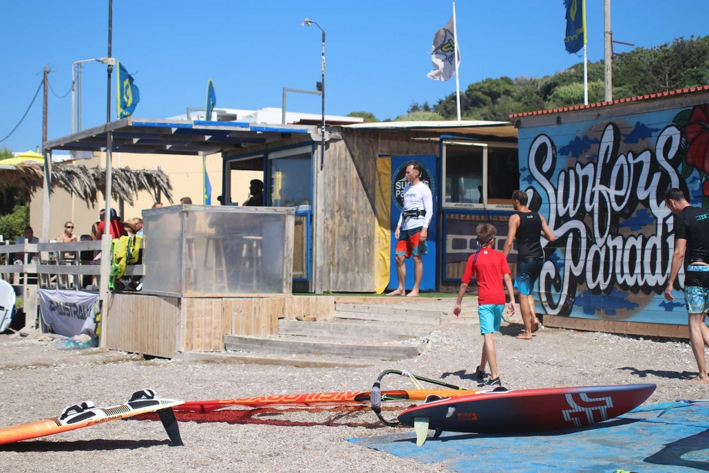 Surfers Paradise - Windsurfing - Center - Ixia - Rhodes - Greece
