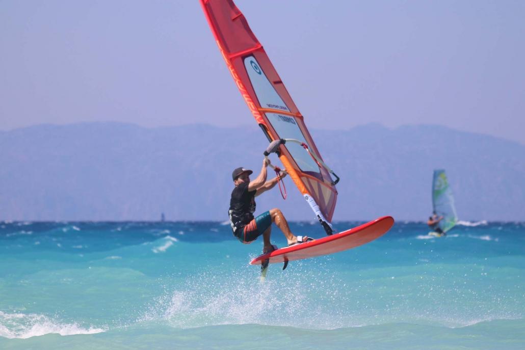Surfers Paradise - Windsurf - Center -Ixia - Rhodes - Greece